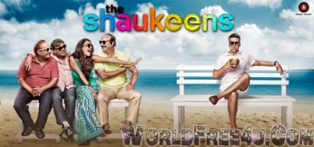 Poster Of Bollywood Movie The Shaukeens (2014) 300MB Compressed Small Size Pc Movie Free Download worldfree4u.com