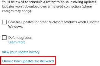 cara mematikan windows update - fix windows update
