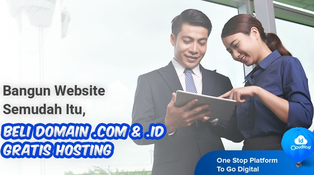 Promo Domain dapat Hosting- Idcloudhost