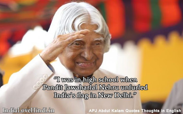 abdul kalam quotes on work