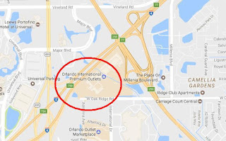 Como llegar a International Premium Outlets Orlando