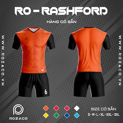 Áo Không Logo Rozaco RO-RASHFORD Màu Cam