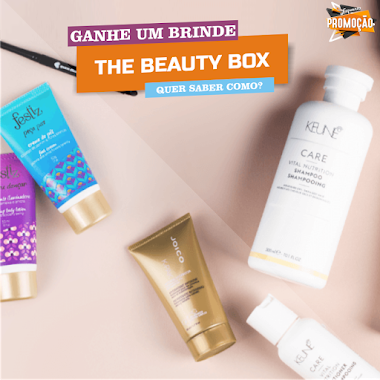 Troque suas embalagens pro brindes na The Beauty Box