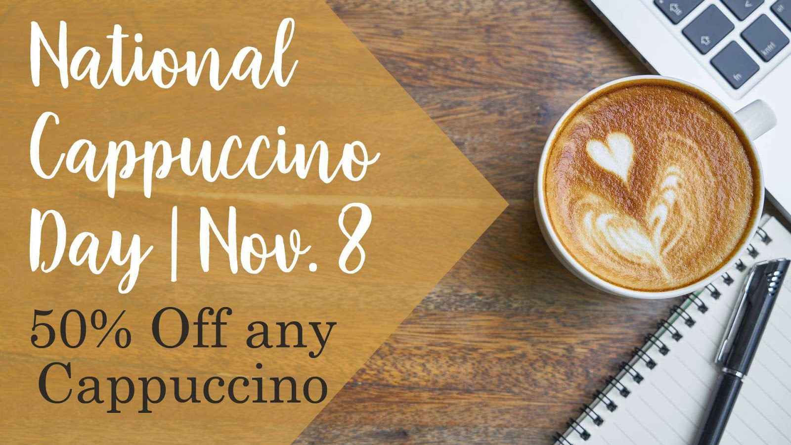 National Cappuccino Day Wishes Beautiful Image