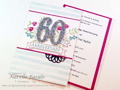 Narelle Fasulo -Independent Stampin' Up! Demonstrator - Simply Stamping with Narelle - Number of Years
