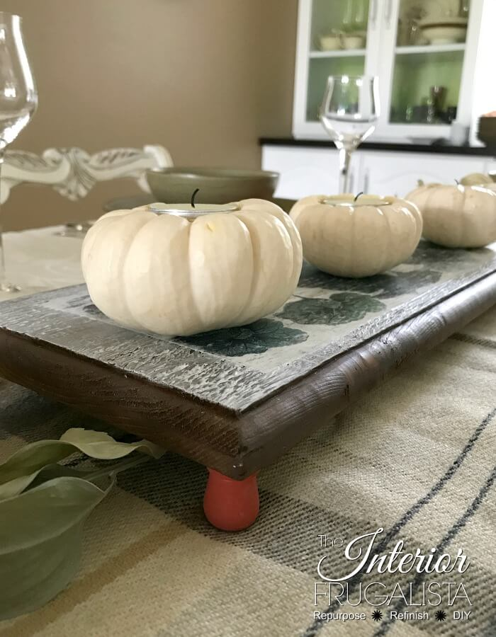 Thanksgiving Trivet Table Riser