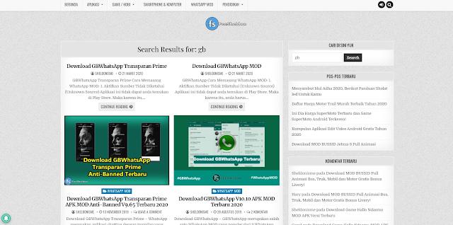 5 Situs Tempat Download GB Whatsapp Terbaru 2020