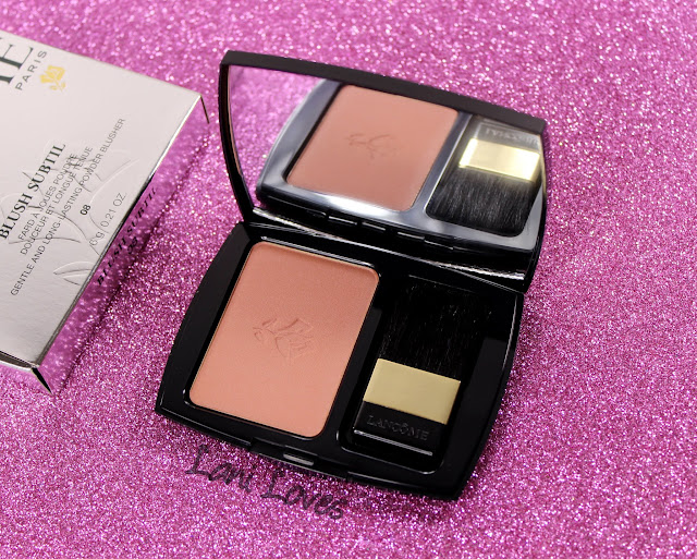 Lancome Blush Subtil Brun Roche Swatches & Review