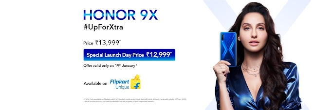 Honor 9X Launched: Specifications, Price And Offers