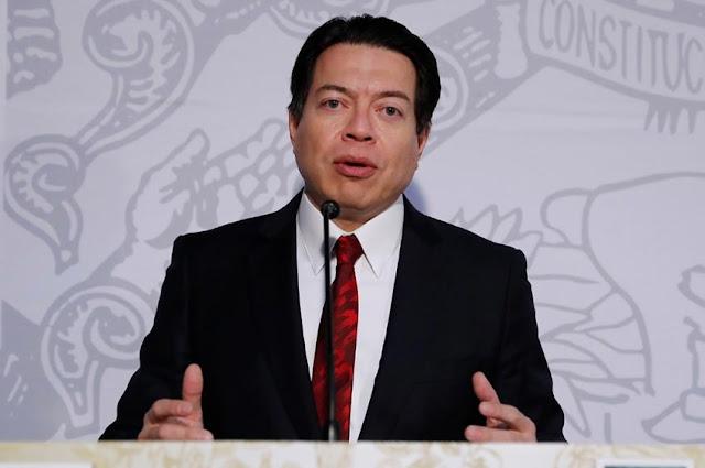 iputado Mario Delgado Carrillo coordinador del Grupo Parlamentario de Morena