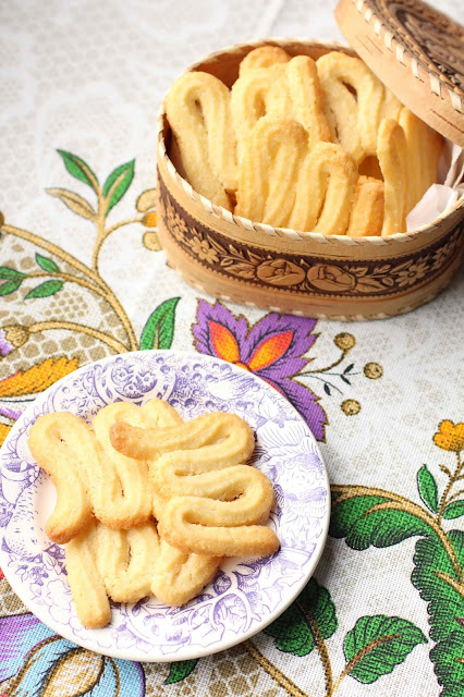 biscuits spritz au beurre