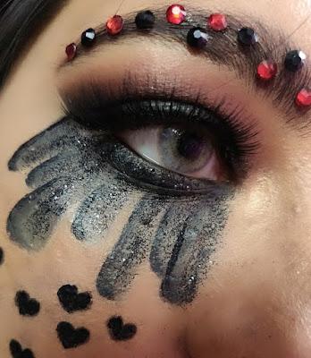Anti Valentine's Day Makeup