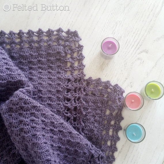 Embraced by Angels Blanket by Susan Carlson of Felted Button