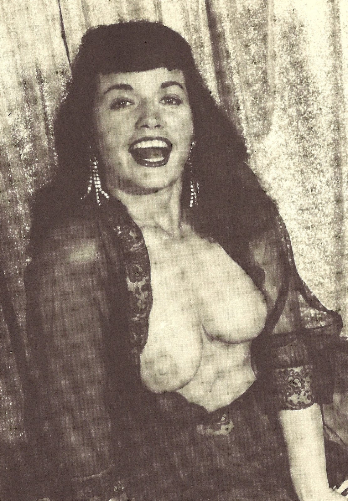 Bettie page nude pics