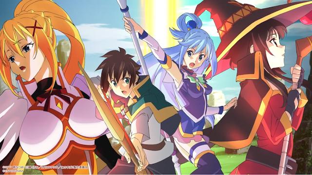 Nuevo RPG de Konosuba revela su opening
