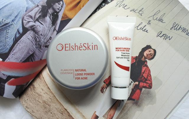 Elsheskin Moisturizer Acne Skin & Elsheskin Loose Powder