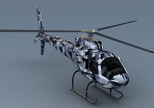 heli 3d model free