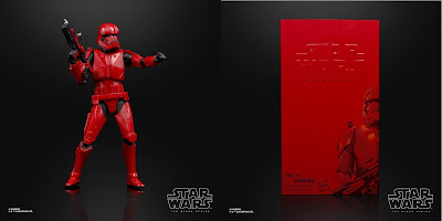 San Diego Comic-Con 2019 Exclusive Star Wars: The Rise of Skywalker Sith Trooper Black Series Action Figure by Hasbro
