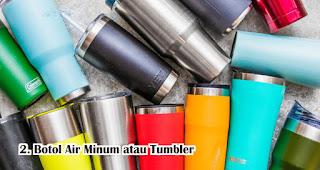 Hadiah Botol Air Minum atau Tumbler yang dibeli secara online untuk hadiah kepada orang yang special Selama Social Distancing