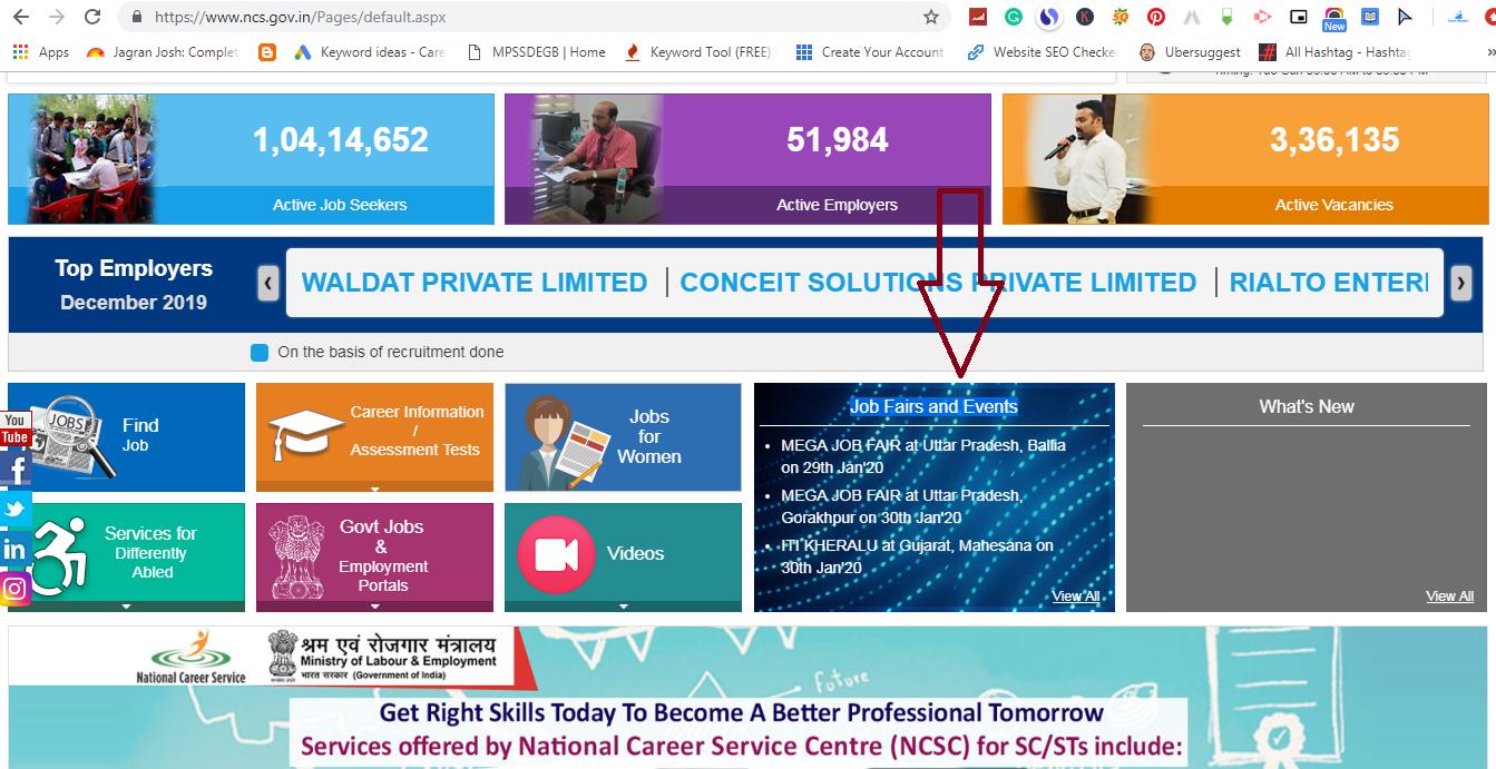 Find Your Nearest Job Fair, What Is Job Fair (Rojgar Mela), Search your nearest job fair, Job Fair 2020, Job Fair List