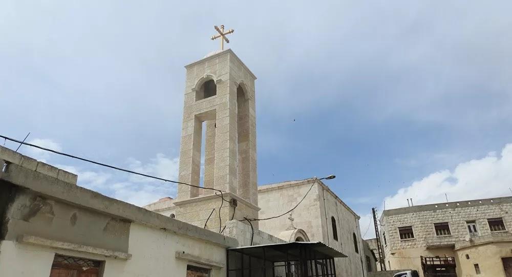 """بناء نسخة مصغرة لكنيسة """"آيا صوفيا"""" في سوريا"""
