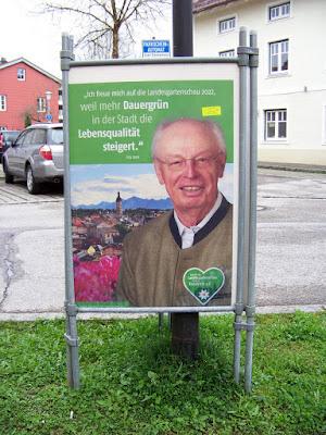 Fritz Stahl zur Landesgartenschau Traunstein