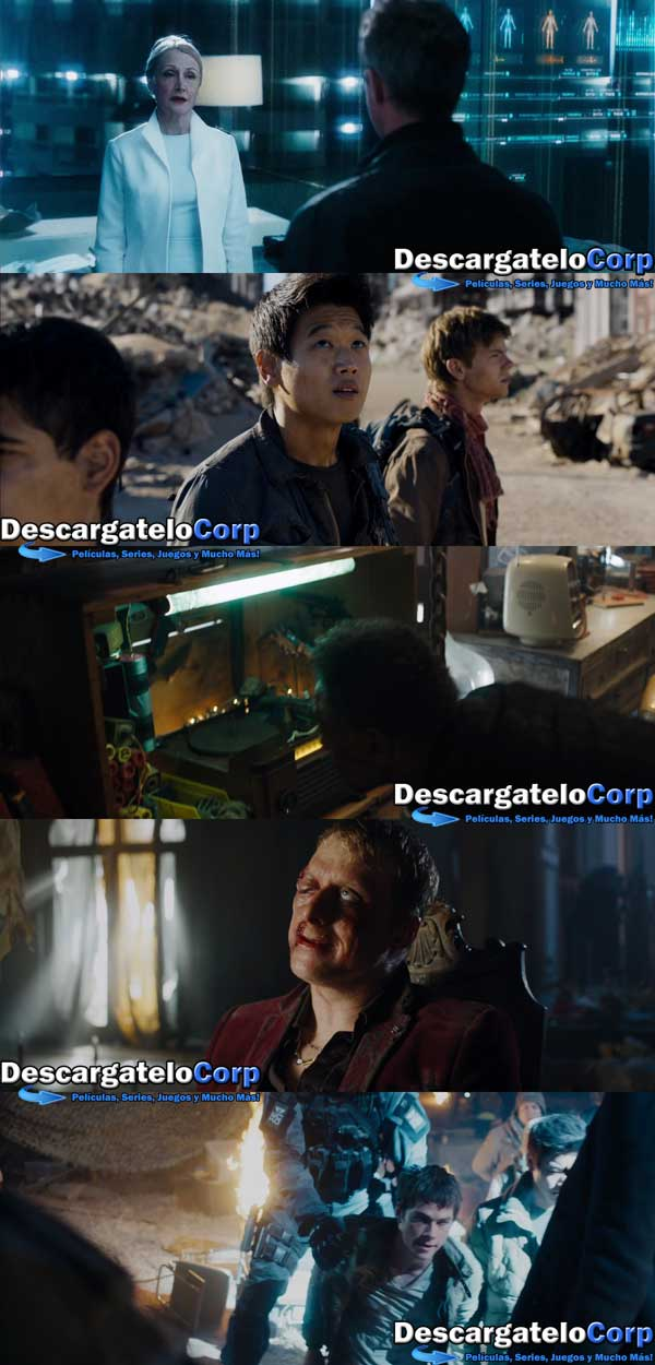 Maze Runner The Scorch Trials HD 1080p Latino