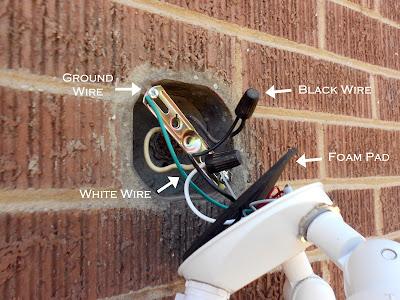 installing a porch light