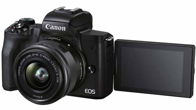 Canon EOS M50 Mark II has been launched in India with 24.1-megapixel CMOS Sensor: In-Camera YouTube live Streaming