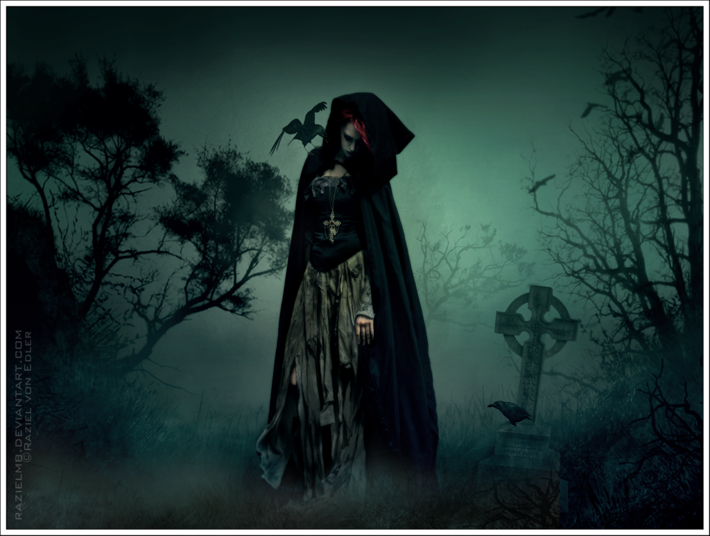 Mystic Blood: Gothic Art: Wandering in the shadows