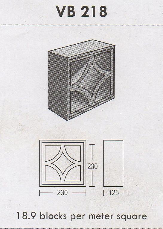 Precast Compressed Slab Concrete Grating Ventilation Block