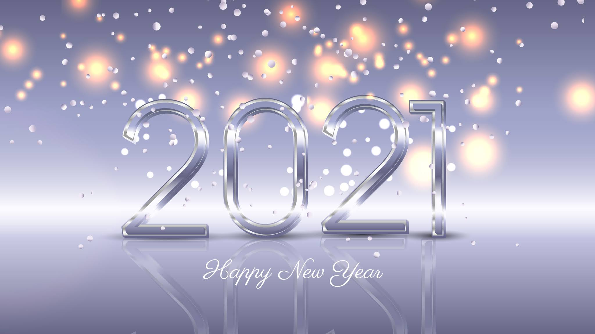 2021 New Year Background Hd