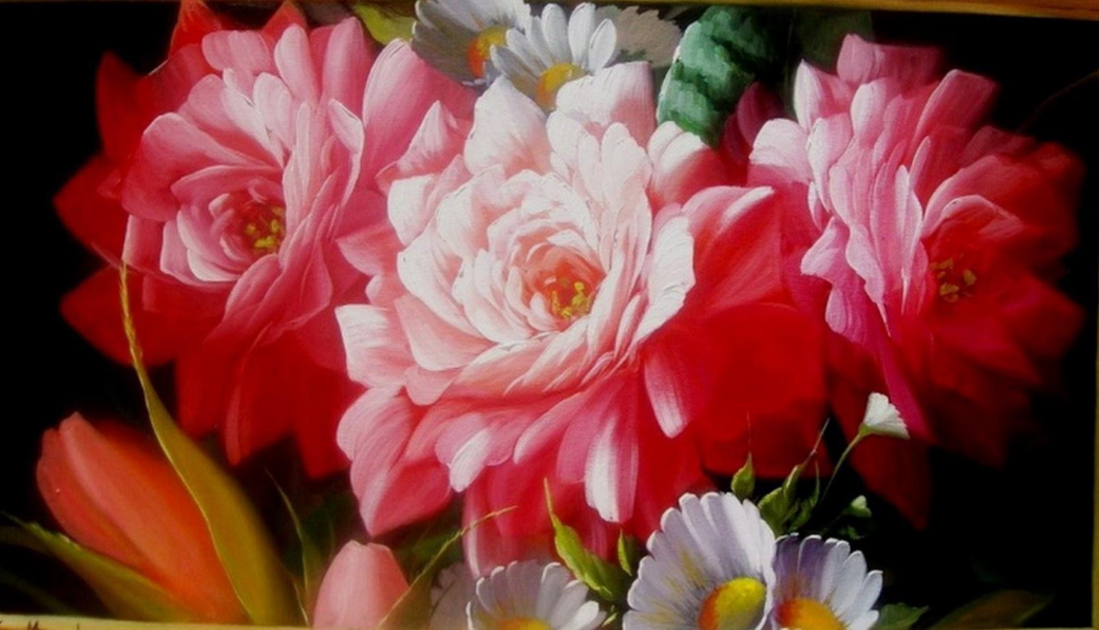 Cuadros modernos pinturas y dibujos nuevos cuadros de - Cuadros florales modernos ...