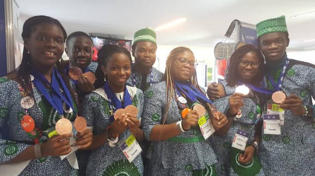 5 Brilliant Nigerian Students Shine At World Robotics Competition