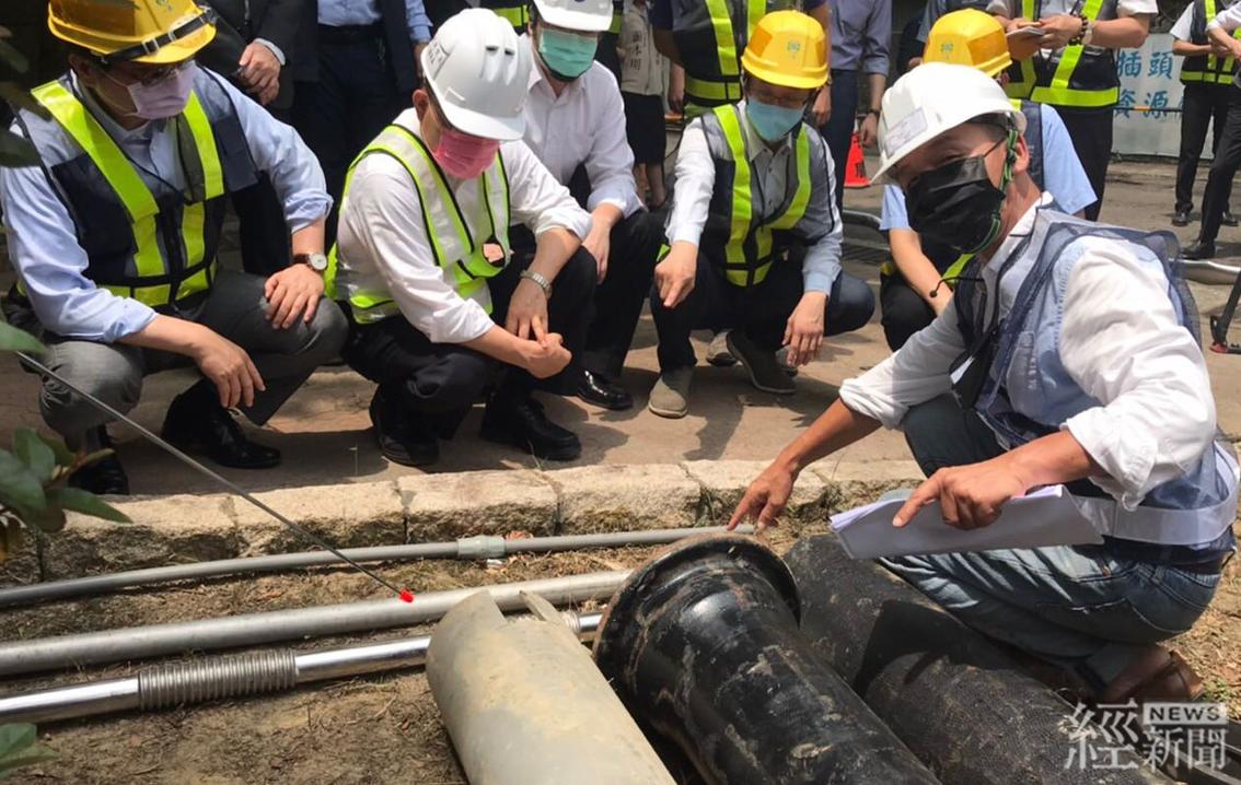 台灣自來水公司-積極推動基隆地區降漏相關工程