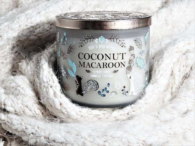 avis coconut macaroon bath & body works, bath and body works france, bougie parfumée bath and body works, coconut macaroon candle review, bath & body works coconut macaroon avis, blog bougie parfumée