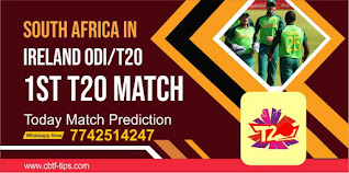 South Africa Team in Ireland T20, Match 1st: Ireland vs South Africa Today cricket match prediction 100 sure