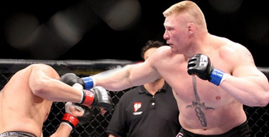 Brock Lesnar UFC heavyweight Champion