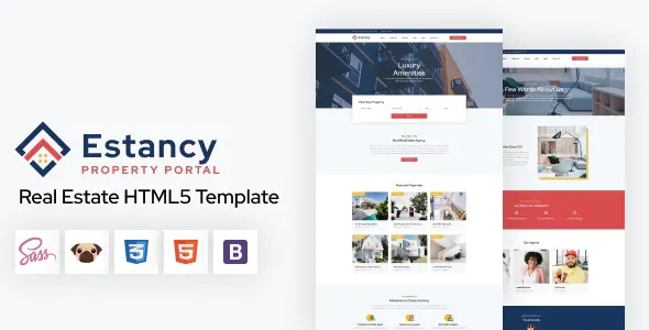 Best Real Estate HTML5 Template