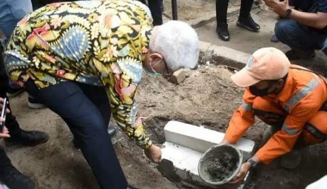 Kolaborasi Jakpro : Bangun Polsubsektor Volker di Jalan RE Martadinata
