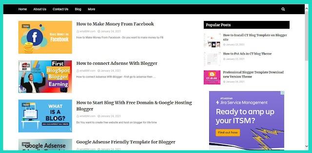 Blogger Par Free Me Website Kaise Banaye - Jo Bilkul Professional Ho