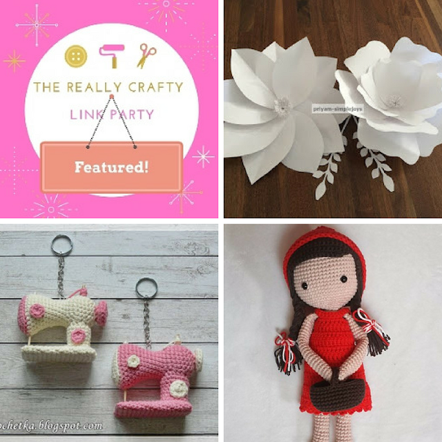 The Really Crafty Link Party #57 featured posts