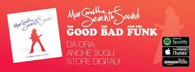 Banner per l'uscita di ''The Good, the Bad and the Funk""