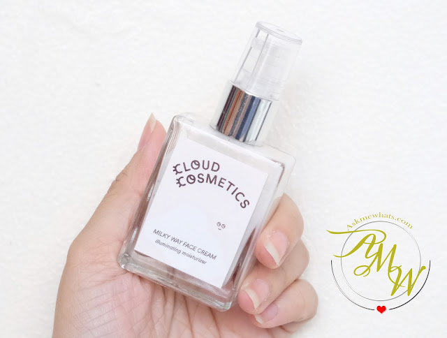 a photo of Cloud Cosmetics Milky Way Face Cream Illuminating Moisturizer Review