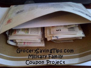 Military Family Coupon Project at GrocerySavingTips.com