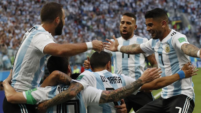 Argentina beat Nigeria in the FIFAWorld Cup 2018, reach Round of 16