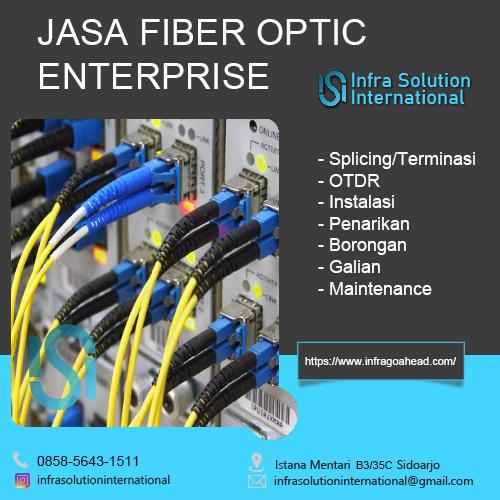 Jasa Fiber Optic Banyuwangi Enterprise