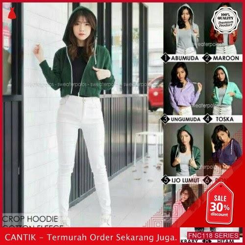 FNC118J58 Jaket Sweater Crop Hodie Wanita Xiomi murah Serba 40 Ribuan