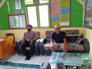 Bhabinkamtibmas Polsek Malua Kontrol Kesiapan Kampung Tangguh Balla Ewako Desa Tangru