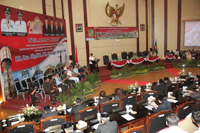 DPRD Medan Rapat Paripurna Bahas Soal Perumahan Kumuh